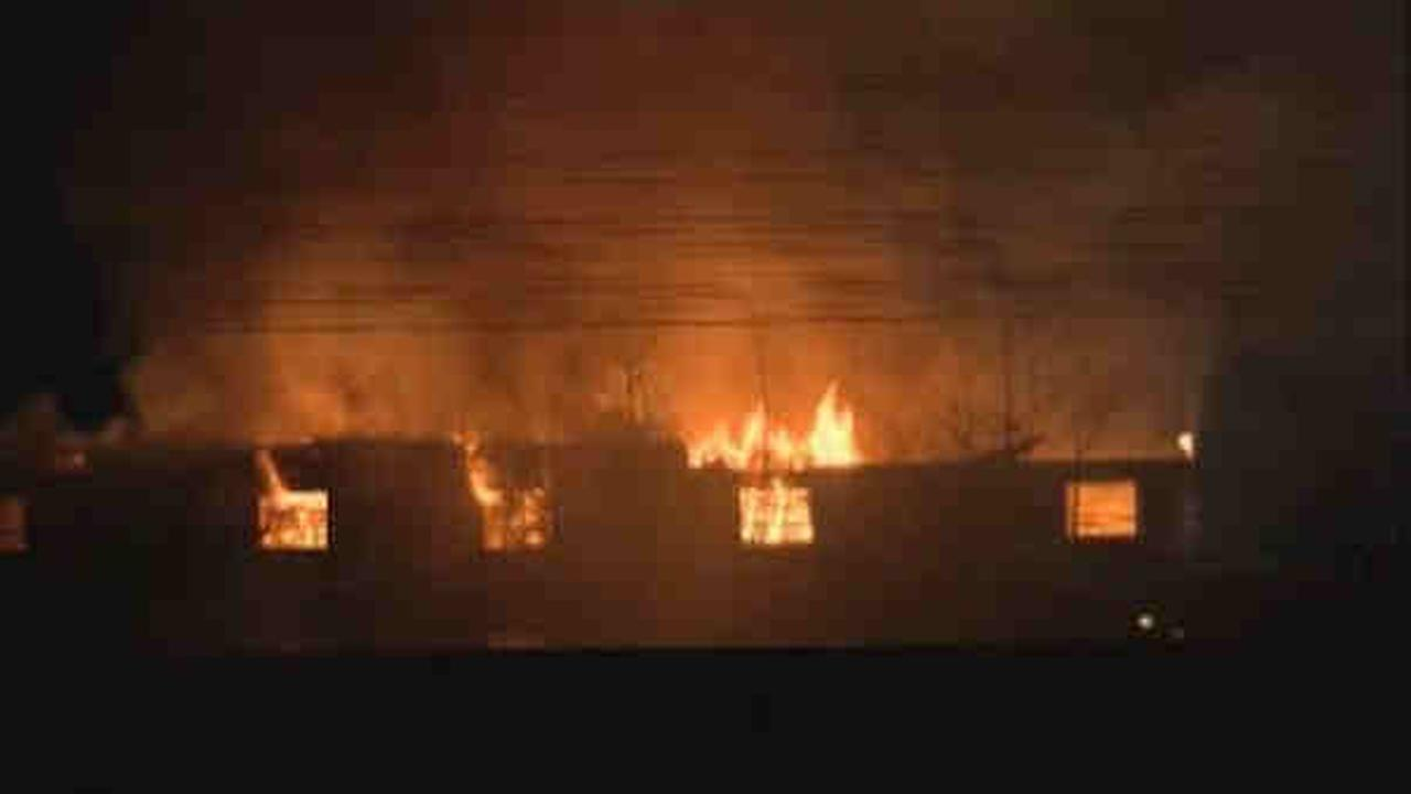 Authorities label warehouse fire in Linden, New Jersey suspicious