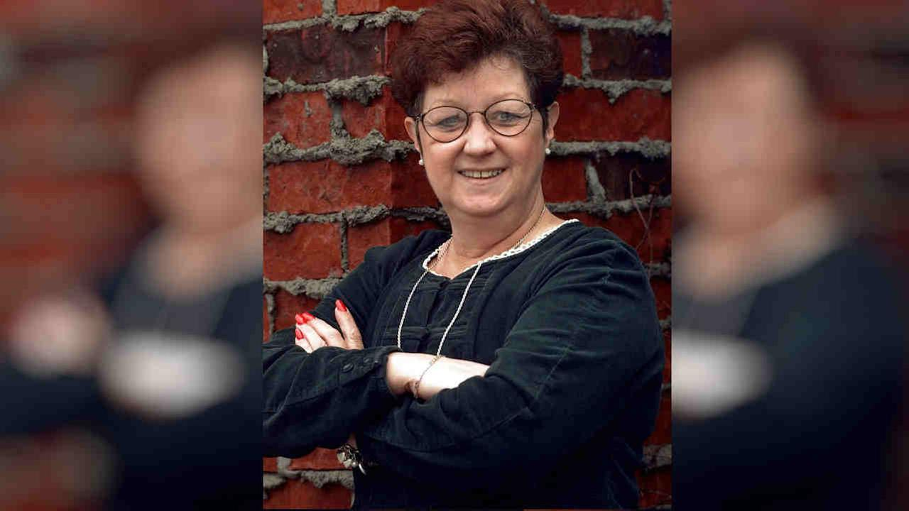 Norma McCorvey poses in Dallas in 1998. McCorvey, who once fought for the right to have an abortion, then became an anti-abortion activist, died Saturday at age 69.