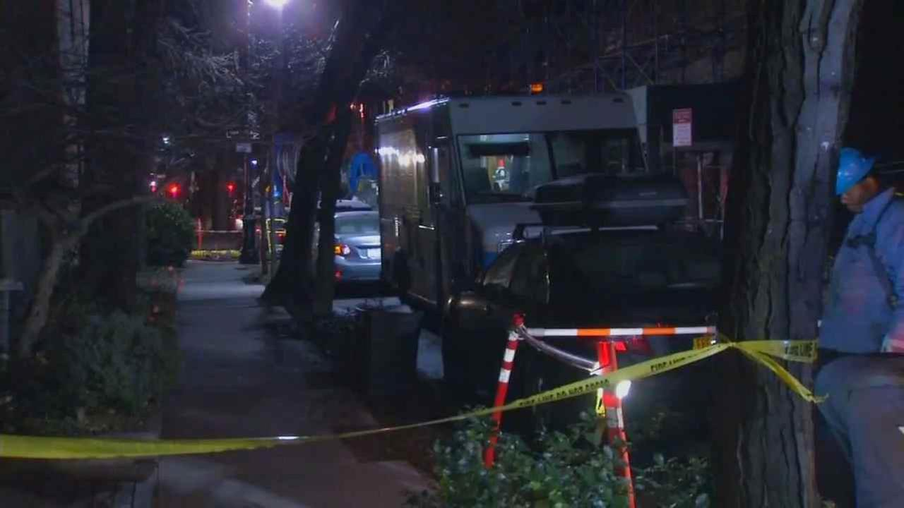 Two Con Edison workers were injured in a manhole fire in Brooklyn.