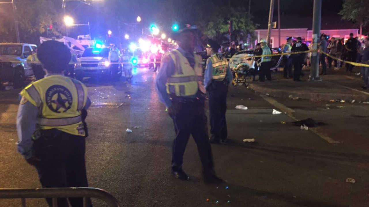DWI suspected in crash into parade crowd that injured 28 in New Orleans