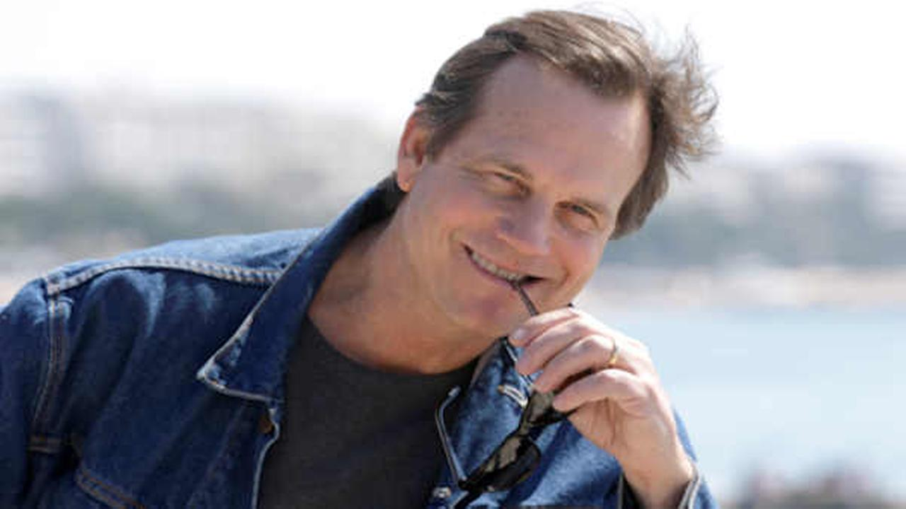 Bill Paxton poses for photographers during the MIPTV, International Television Programme Market, Monday, April 13, 2015, in Cannes.