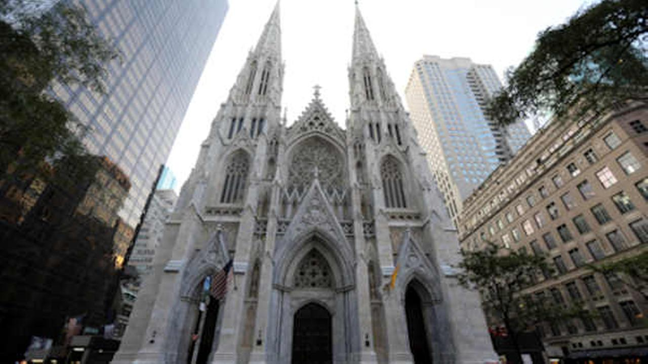 St. Patricks Cathedral in Midtown Manhattan.   (AP Photo/Mary Altaffer)