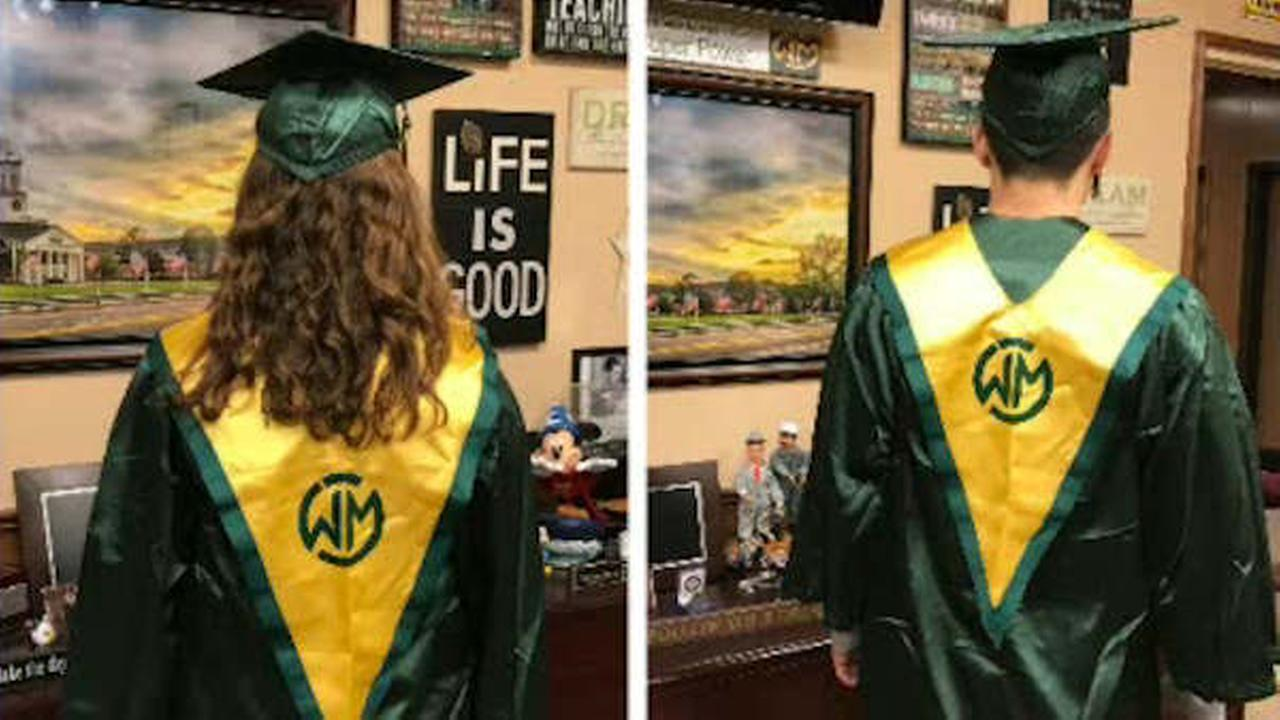 Graduation gown color change sparks walkout, petitions at Long ...
