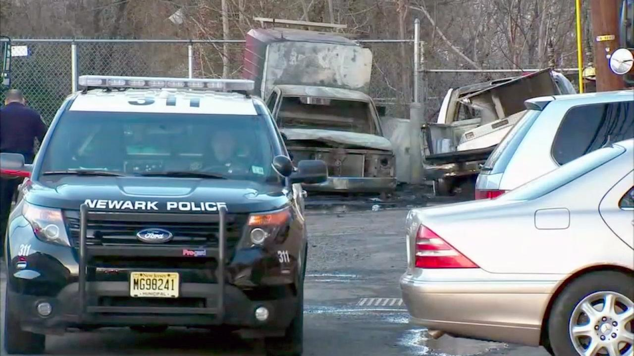One dead in fiery crash in Newark
