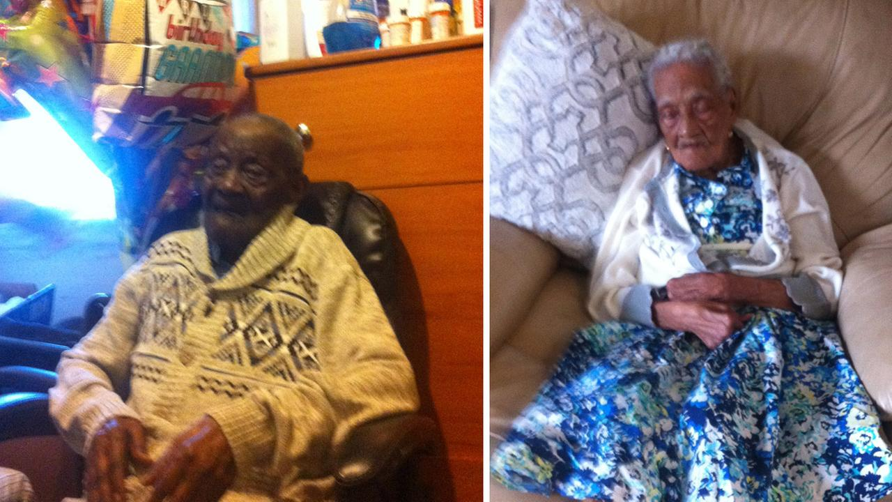 New York man celebrates 110th birthday with 106-year-old wife