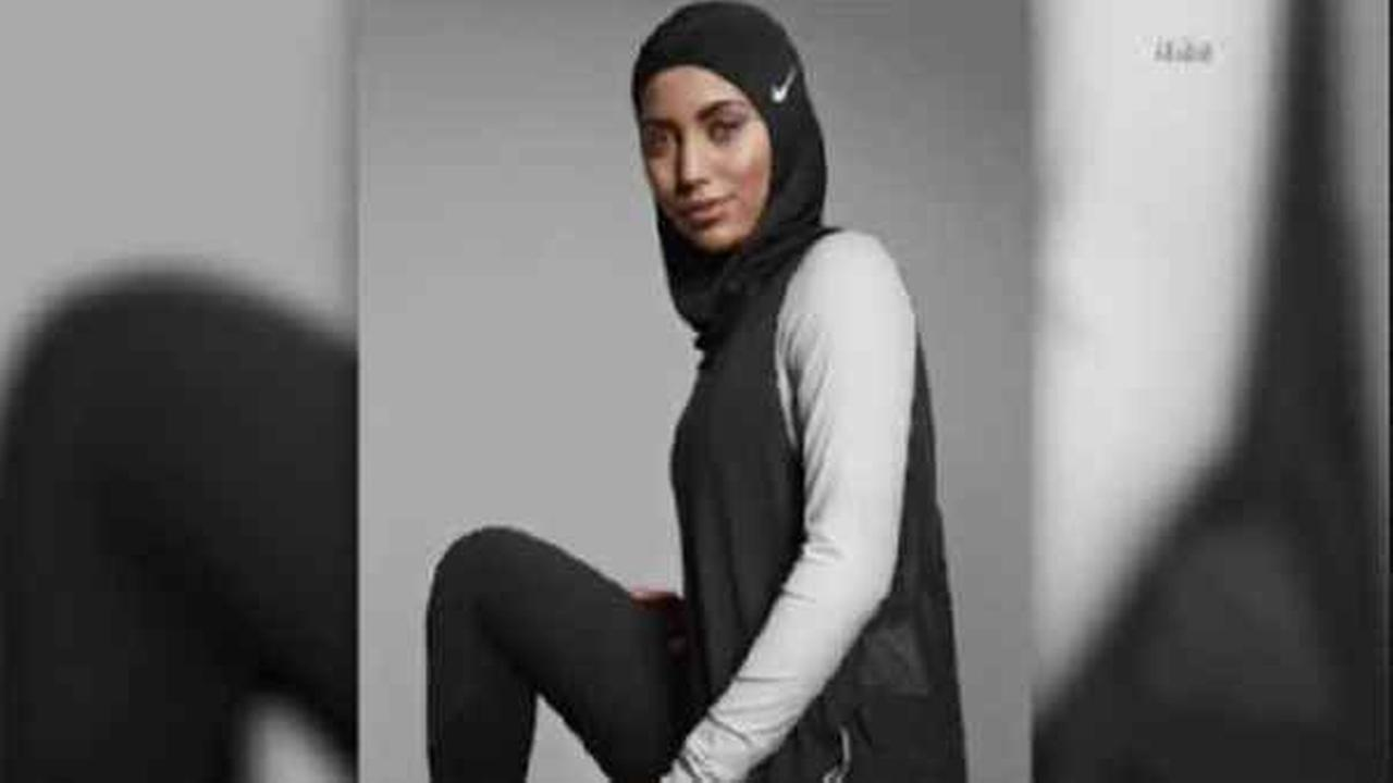 A new hijab was made for Muslim female athletes by Nike.