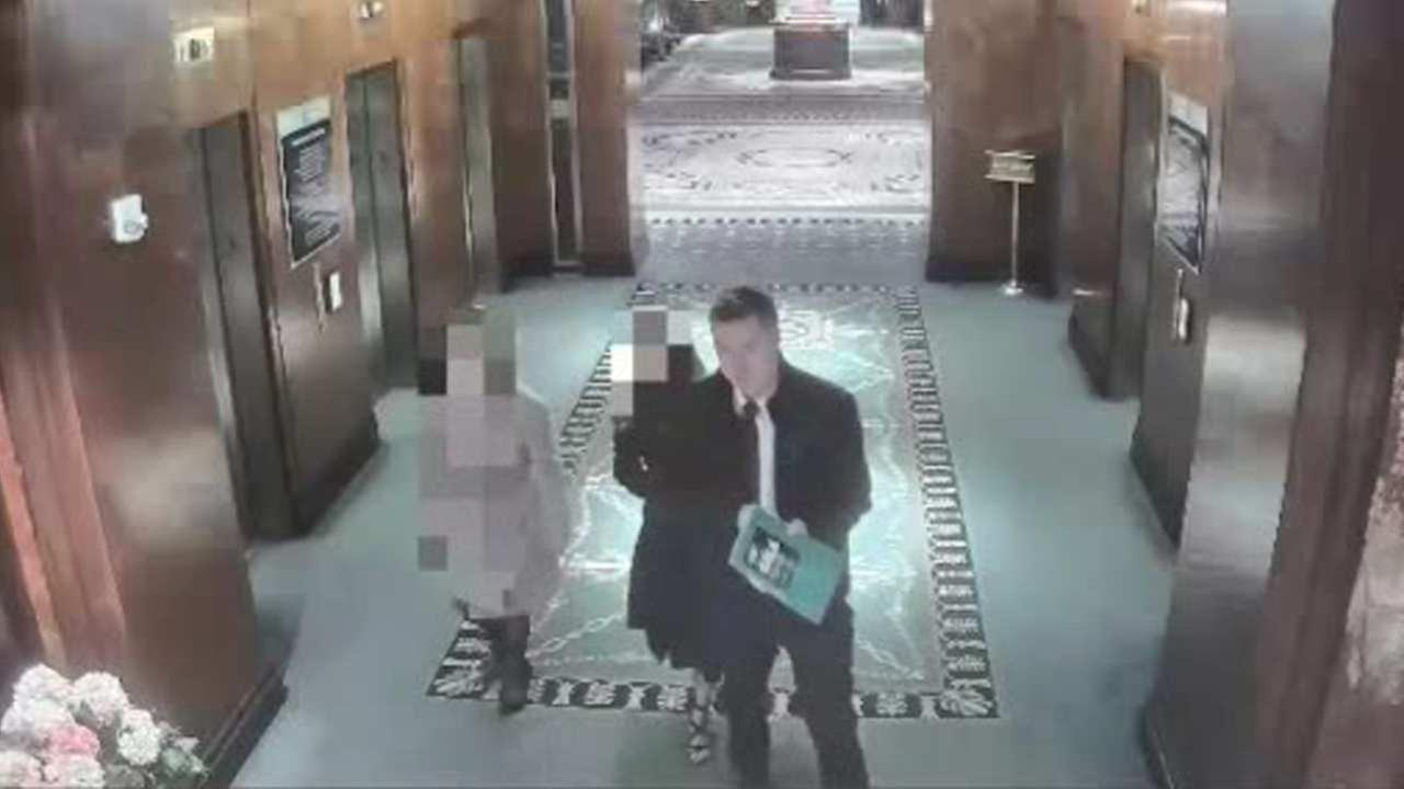Clock plaque stolen from inside Waldorf Astoria