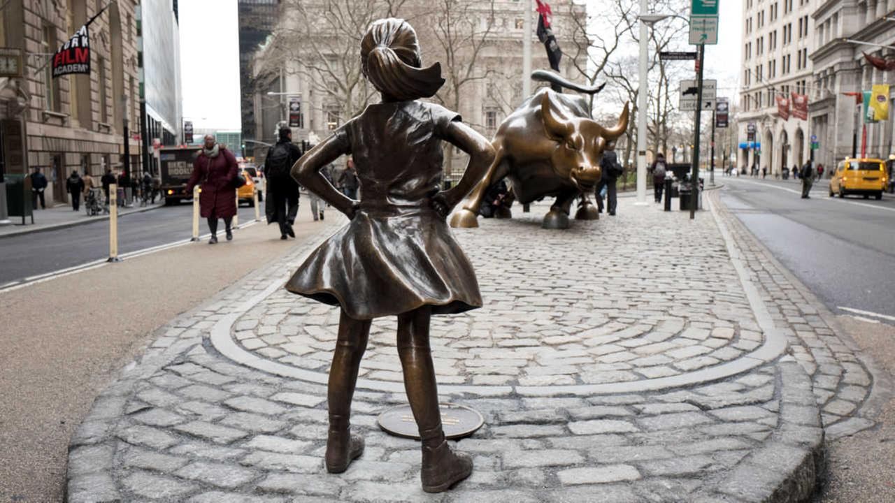 Outrage after man appears to desecrate 'Fearless Girl' statue