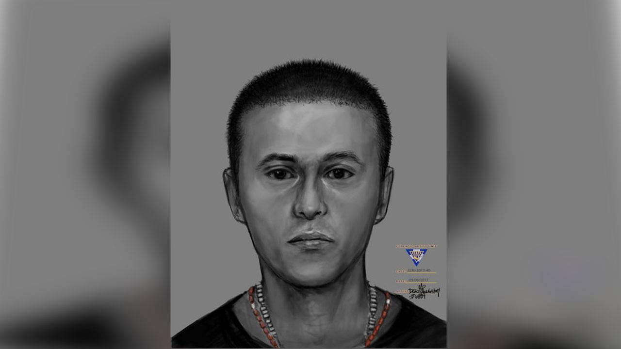 Police in New Jersey seek public's help to identify deceased man in sketch