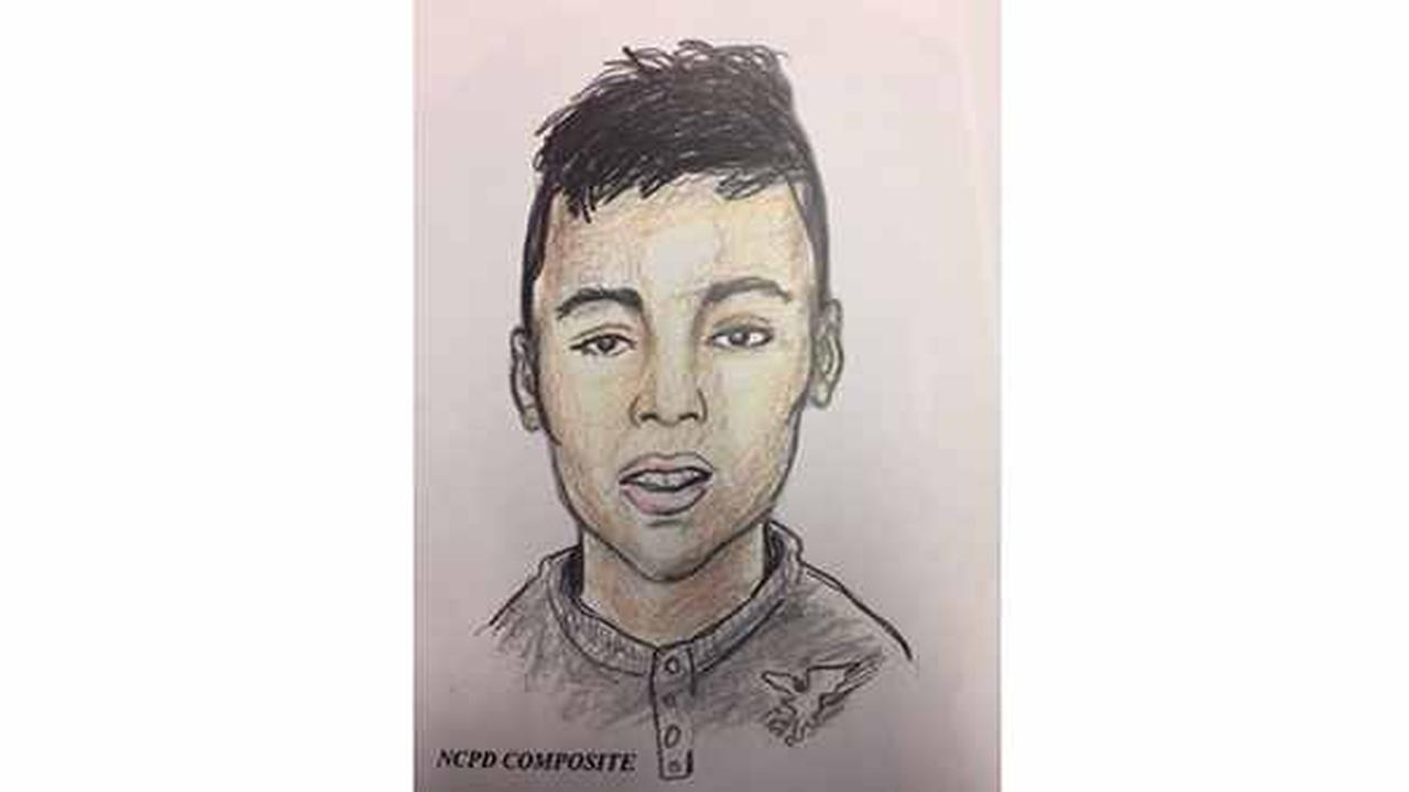 Sketch from Nassau County Police Department