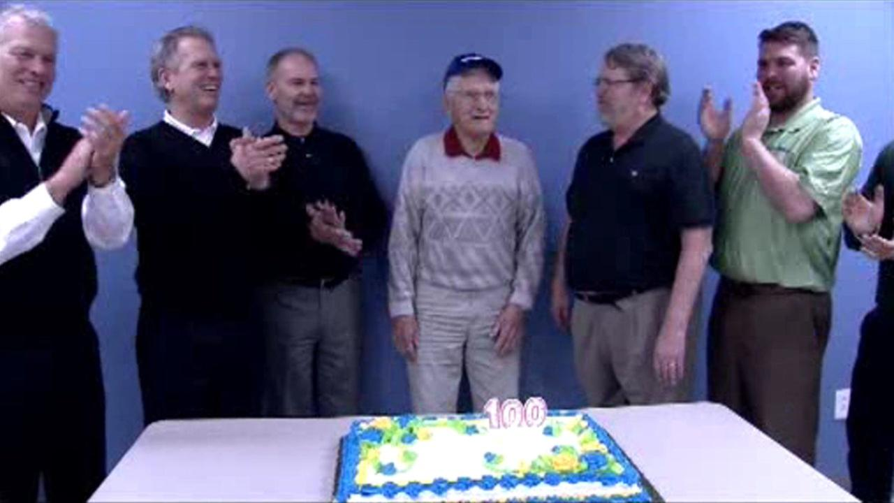 New Jersey man returns to old job for 100th birthday