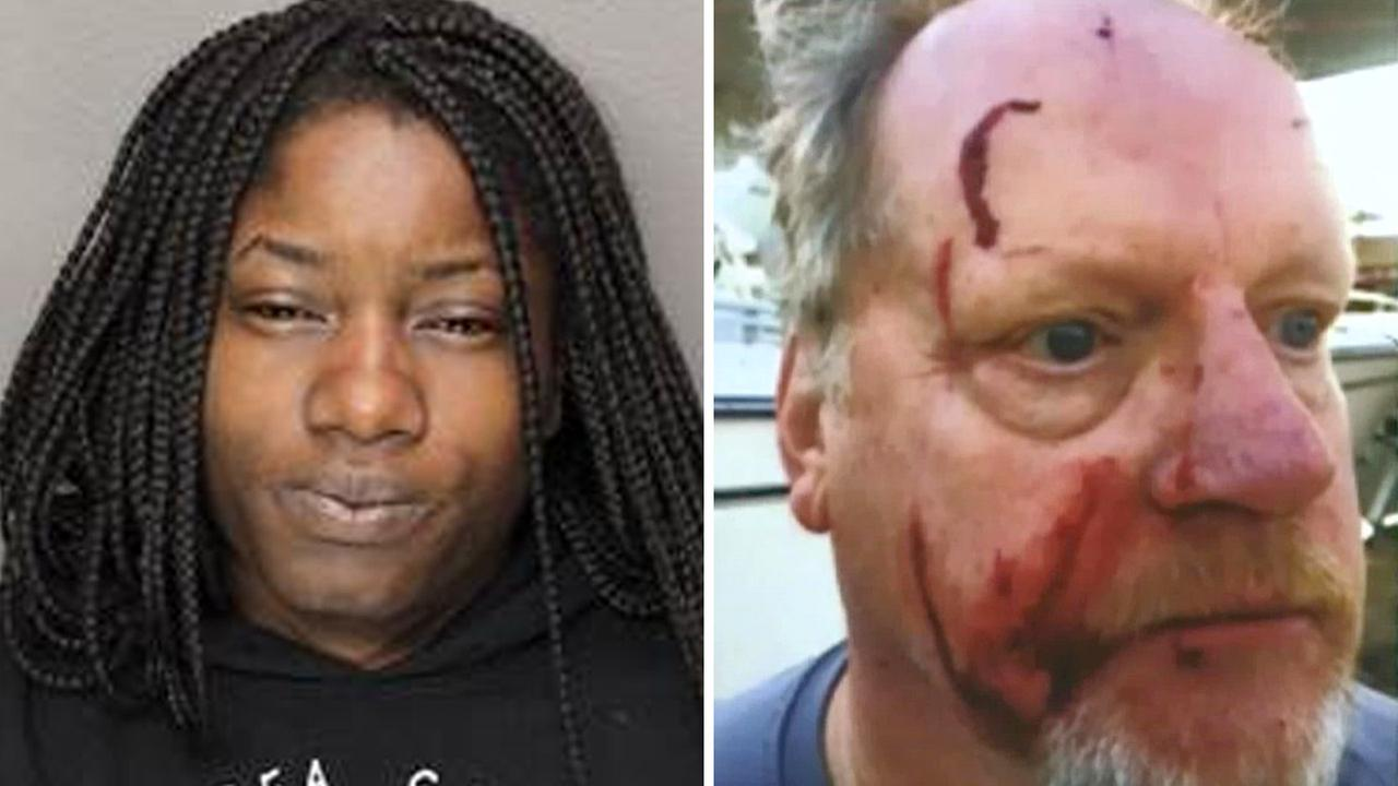 Woman accused of attacking couple with hammer over 'fancy' boat, being white