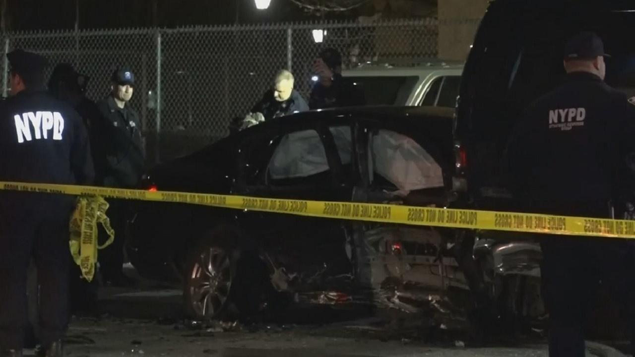 Man arrested after Brownsville, Brooklyn crash that killed rollerblader, injured 5 others