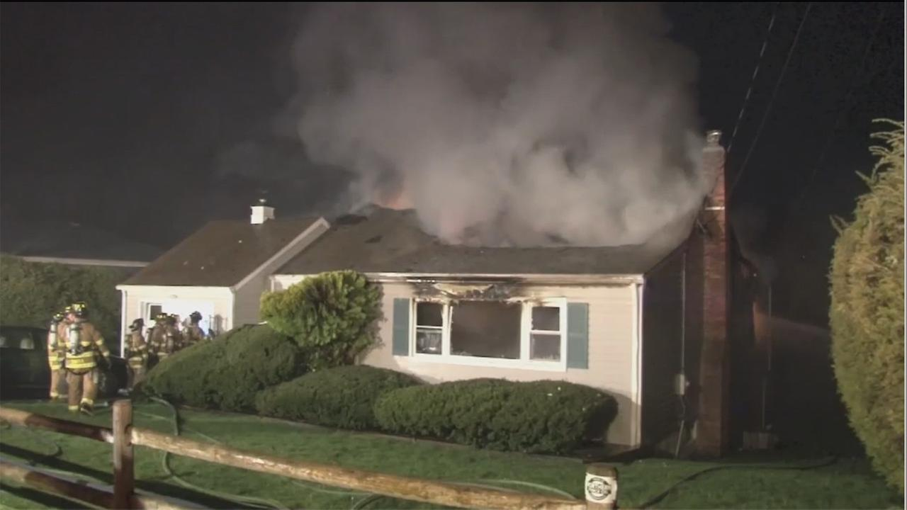 2 dead after fire tears through house in Yorktown Heights
