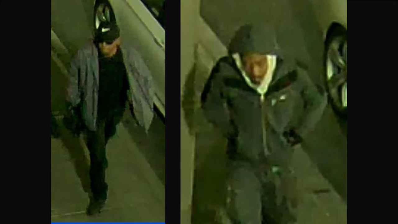 Two men are wanted in the robbery of a Bronx Sprint store.