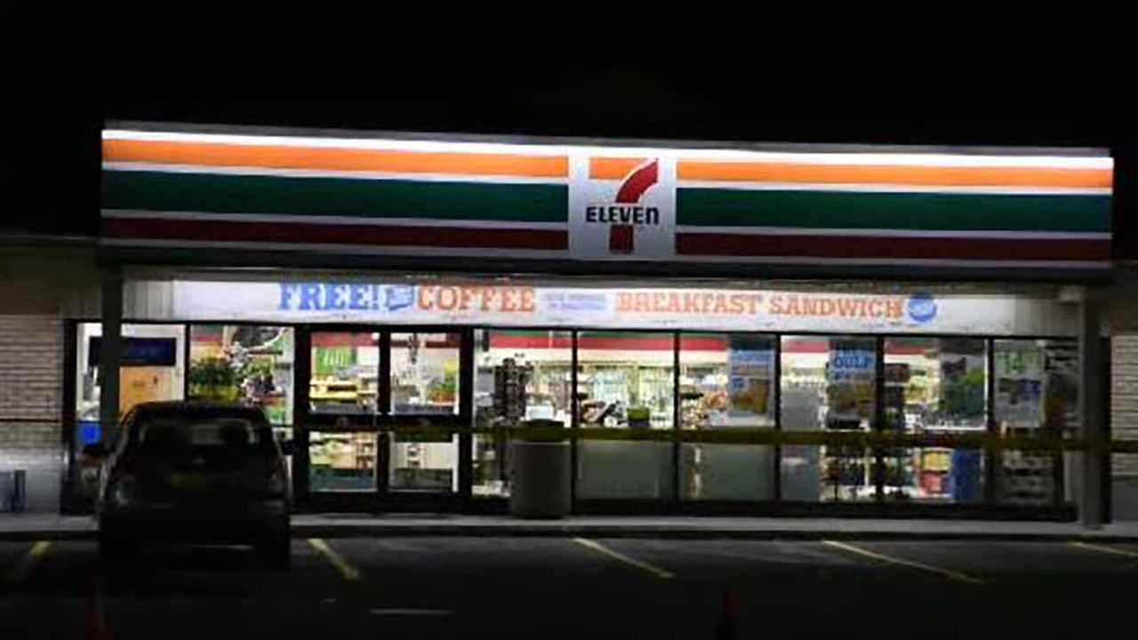 Two Suffolk County 7-Elevens were robbed by two armed men overnight.