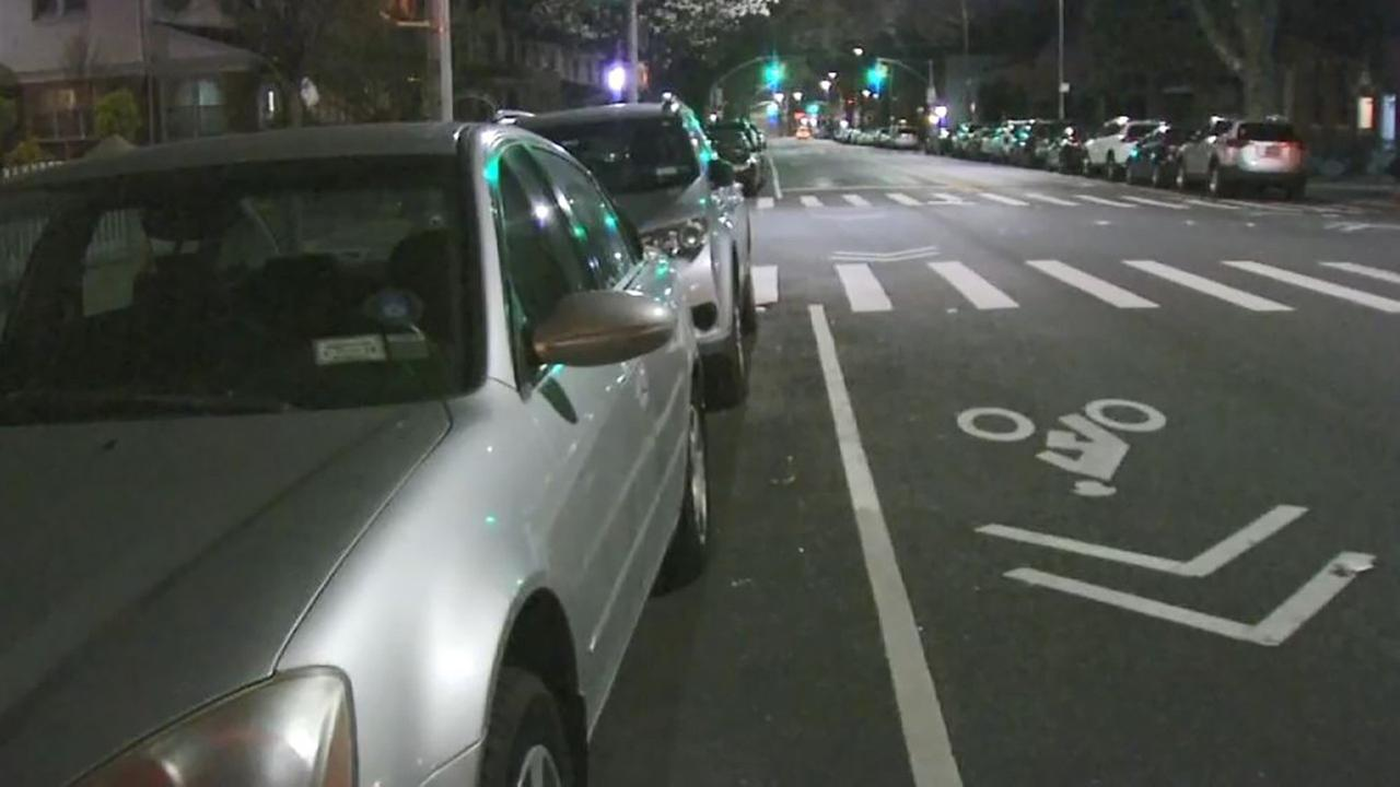 The 35-year-old man on a bike was hit at the intersection of Bay Ridge Avenue and Sixth Avenue.