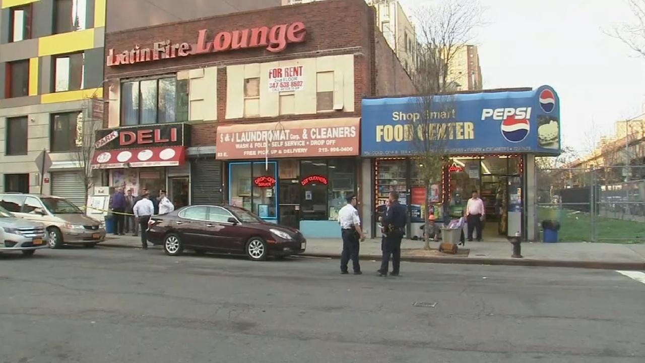 Man shot in the back during dispute in East Harlem deli