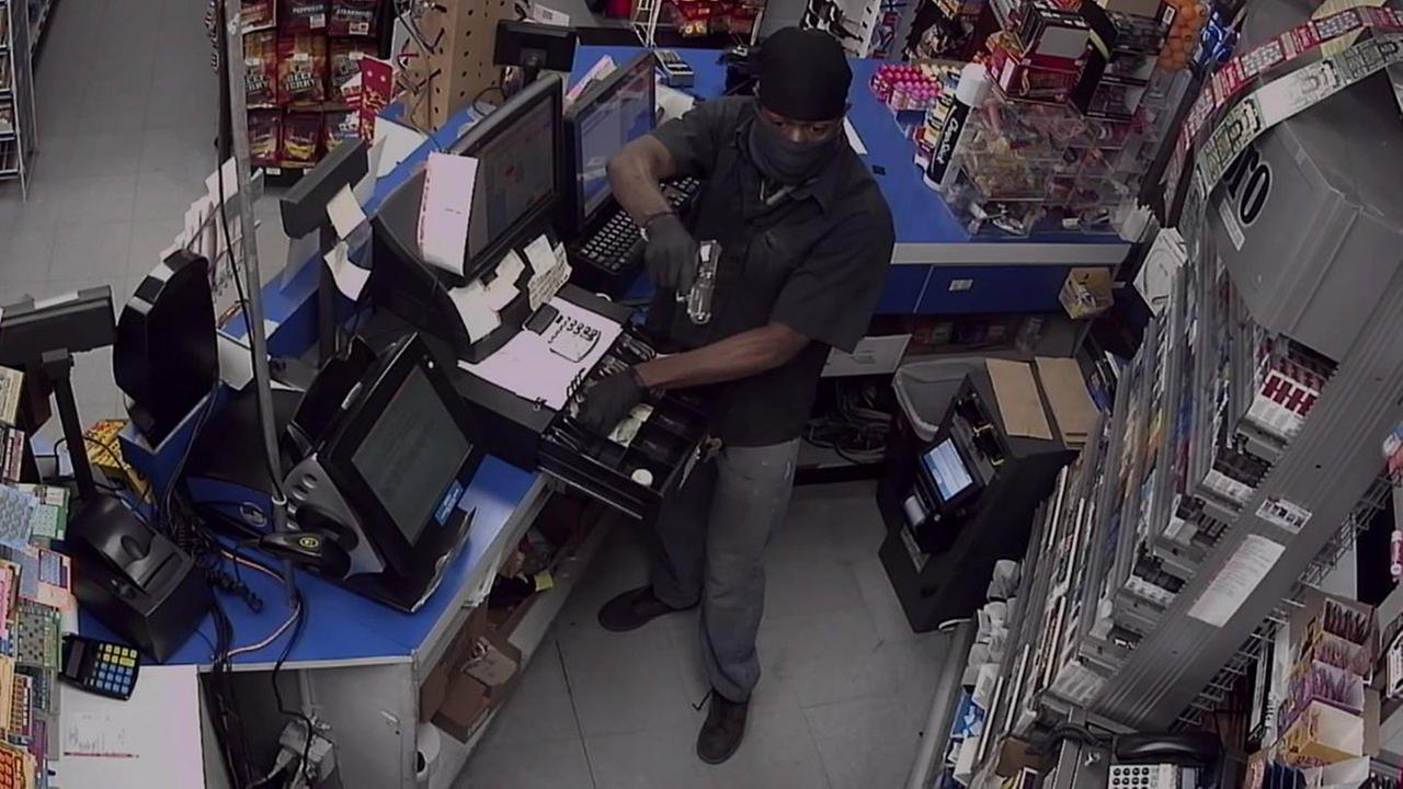 Police are investigating the robbery of a Sunoco Friday in Farmingdale.