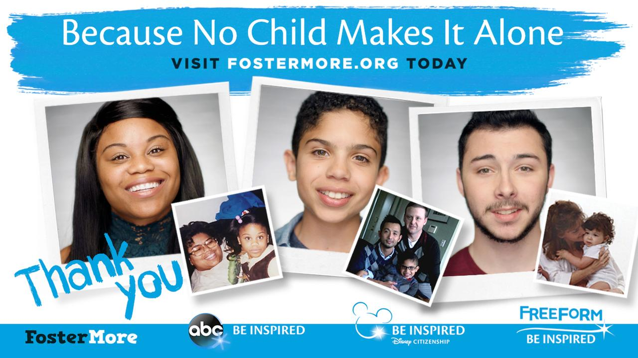 Disney | ABC teaming up with FosterMore to shine light on 'You Were There' foster care campaign