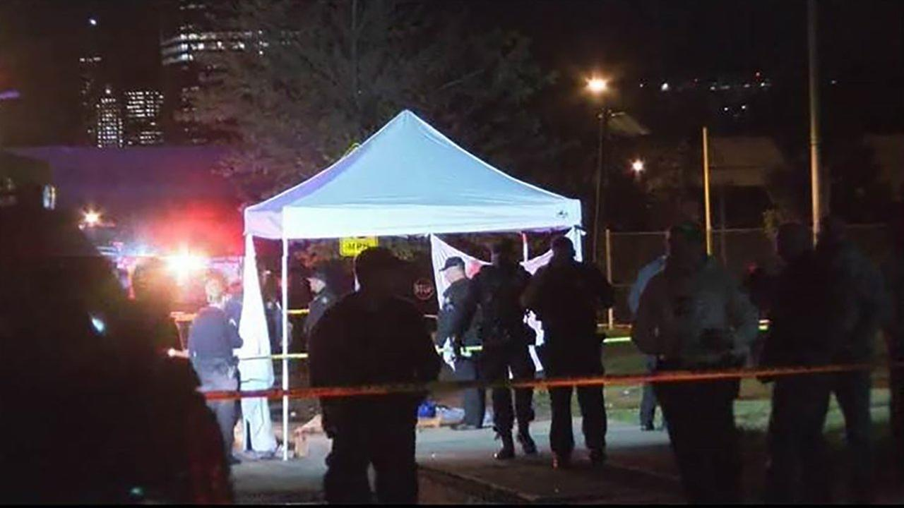 A man and a woman were found dead in Jersey City.