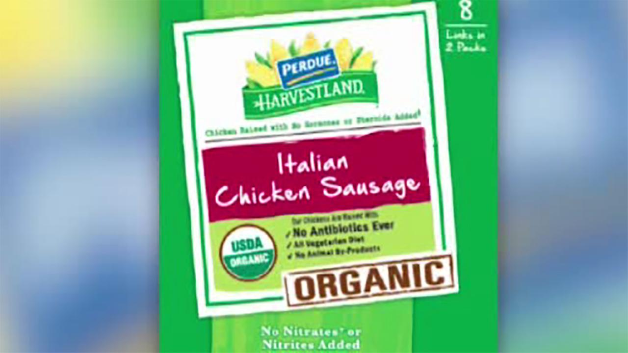 Perdue recalls Italian-style chicken sausage due to plastic pieces