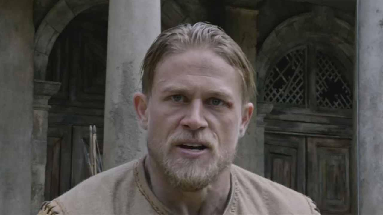 Charlie Hunnam as Arthur in King Arthur: Legend of the Sword