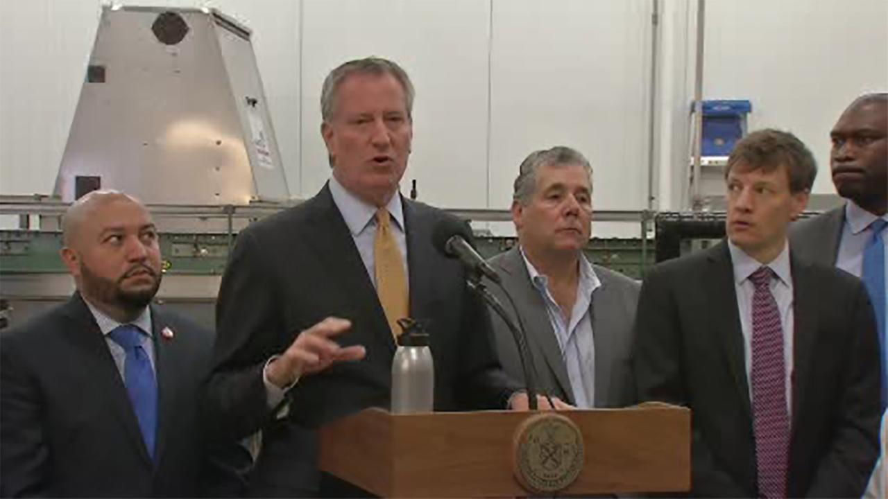 Mayor Bill de Blasio moves city operations to the Bronx as part of 5-borough tour