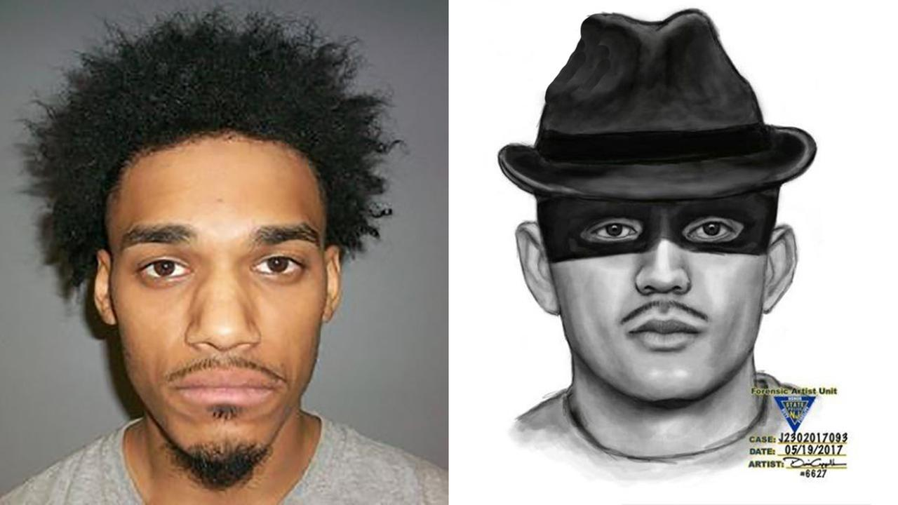 Police: Break-in suspect in fedora, eyemask grabbed mom sleeping near kids, was in house 40 min.