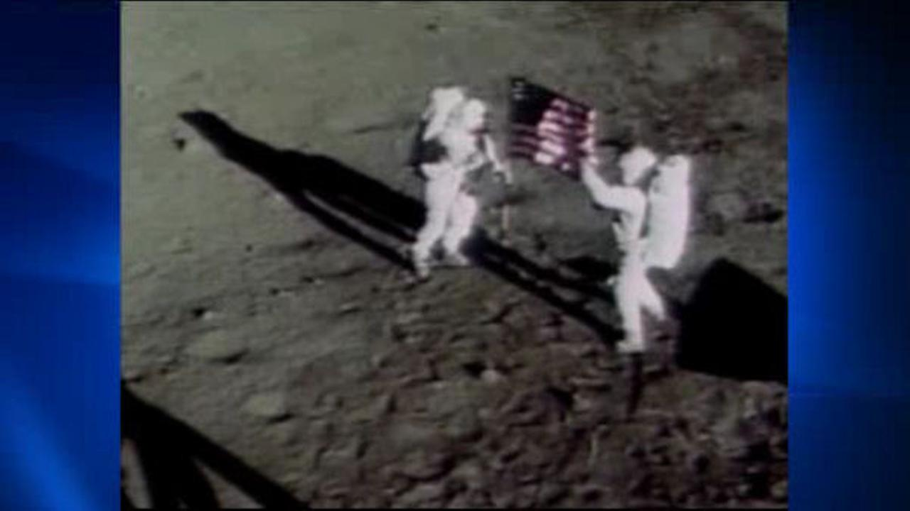 'One giant leap': First walk on the moon was 45 years ago