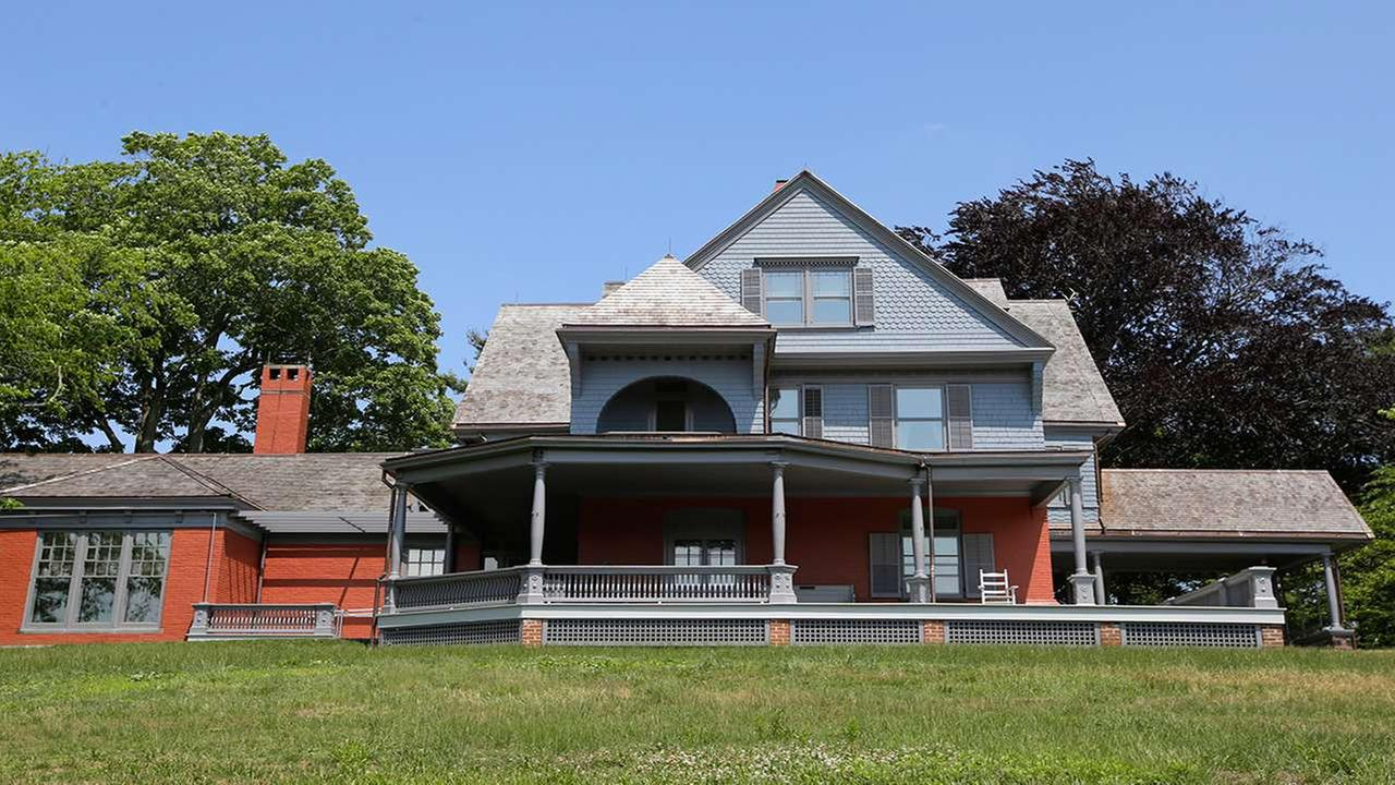 Sagamore Hill, Theodore Roosevelts Summer White House, is shown at Sagamore Hill National Historic Site in Oyster Bay, N.Y.