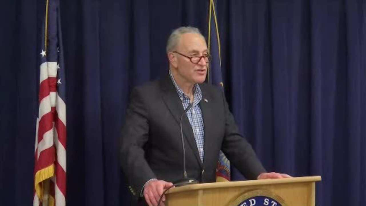 Senator Schumer speaks out against counter-terror fund slashing proposal