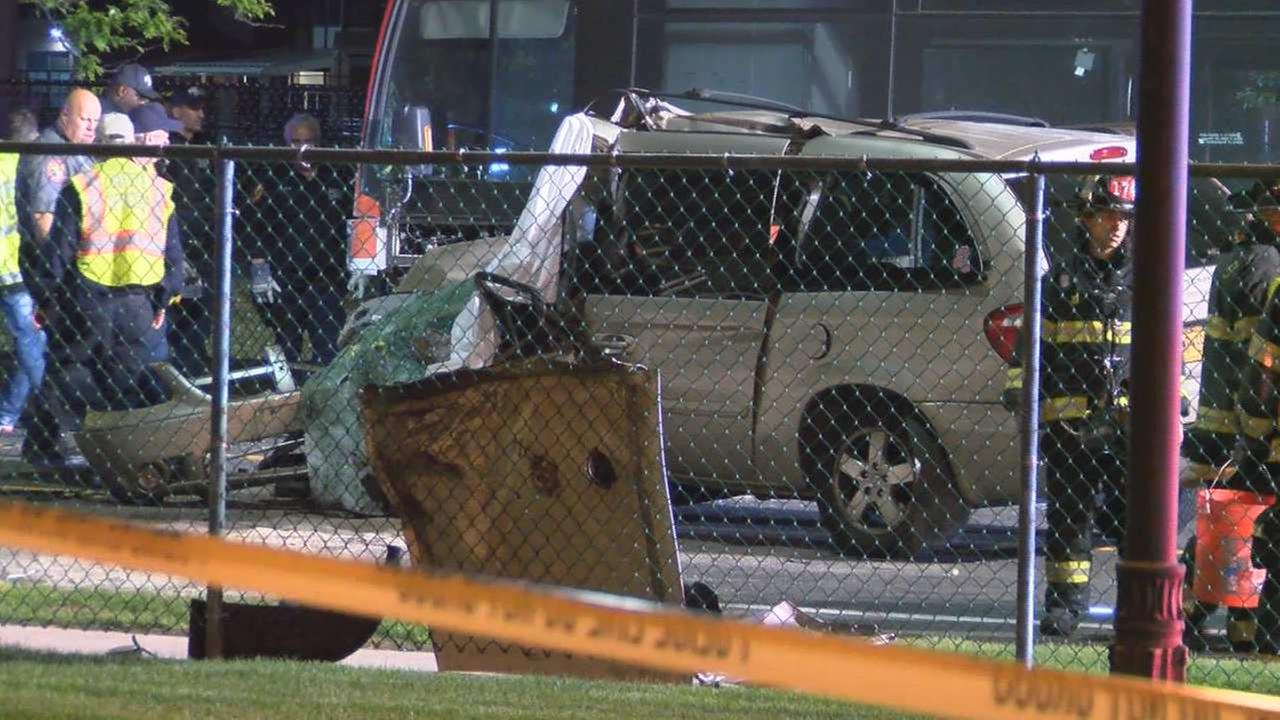 NICE bus and minivan crash in Farmingdale, Long Island