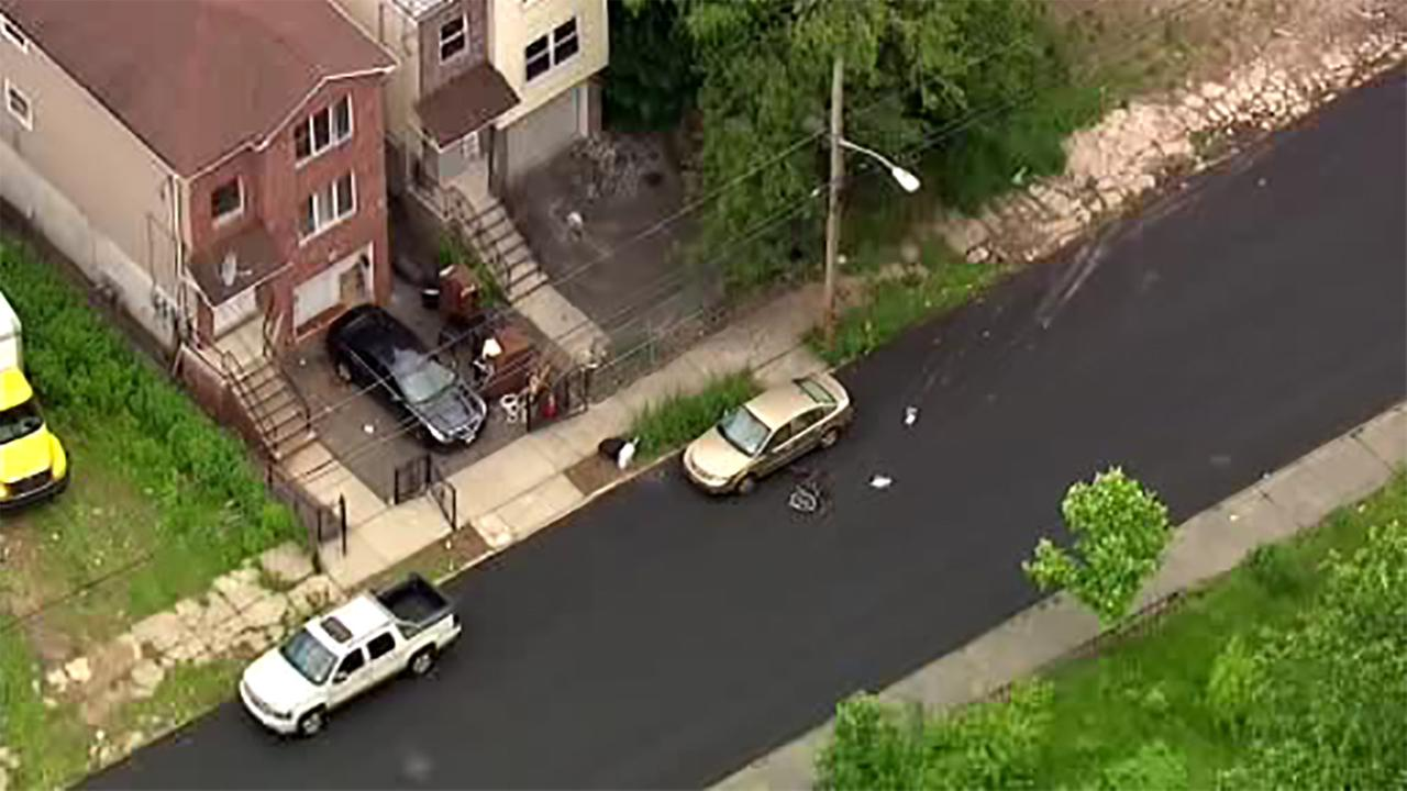 NewsCopter 7 was over the scene of the Newark hit and run Wednesday afternoon.