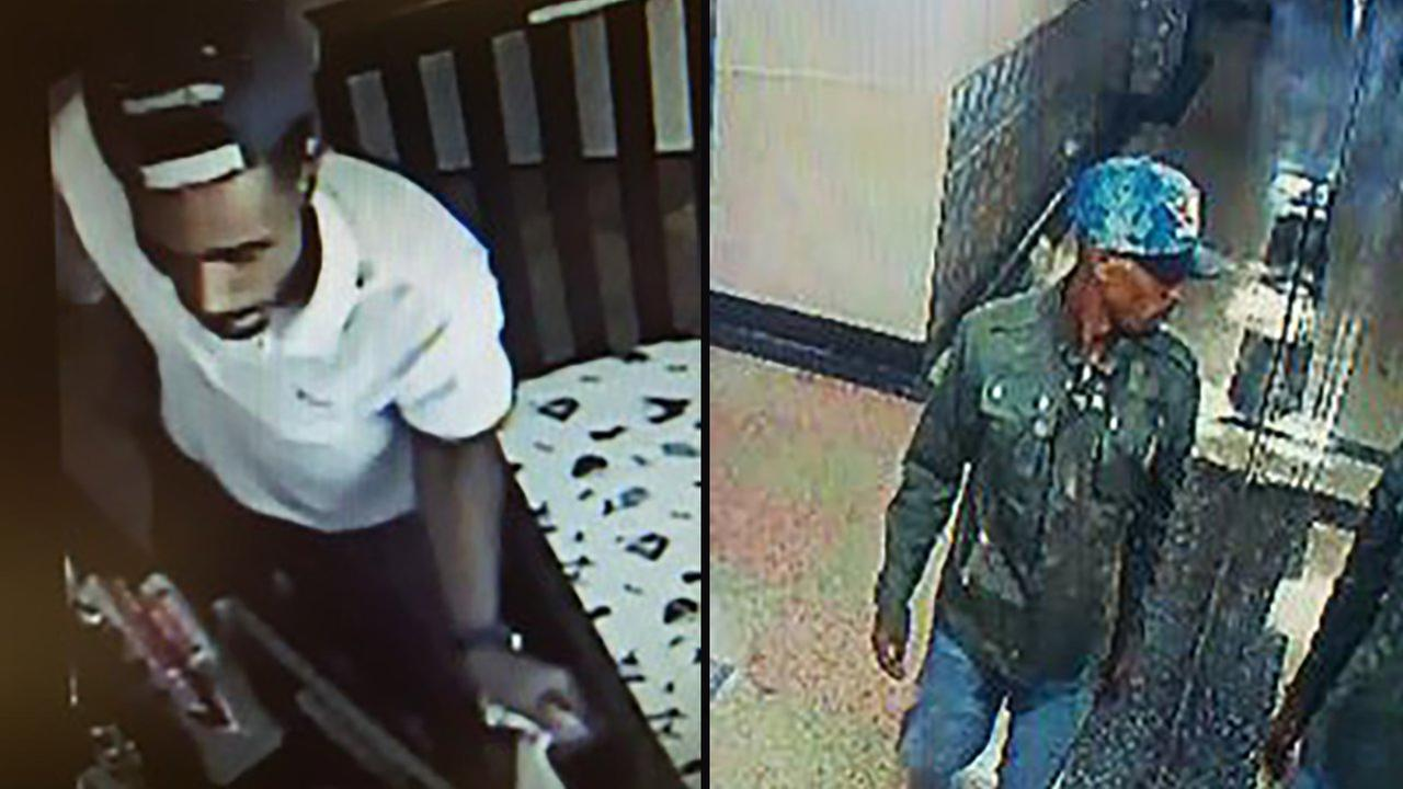 A man is wanted in a strong of burglaries in Queens.