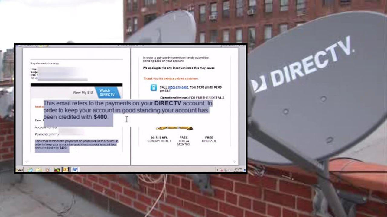7 On Your Side Consumer Warning New Scam Targeting Directv
