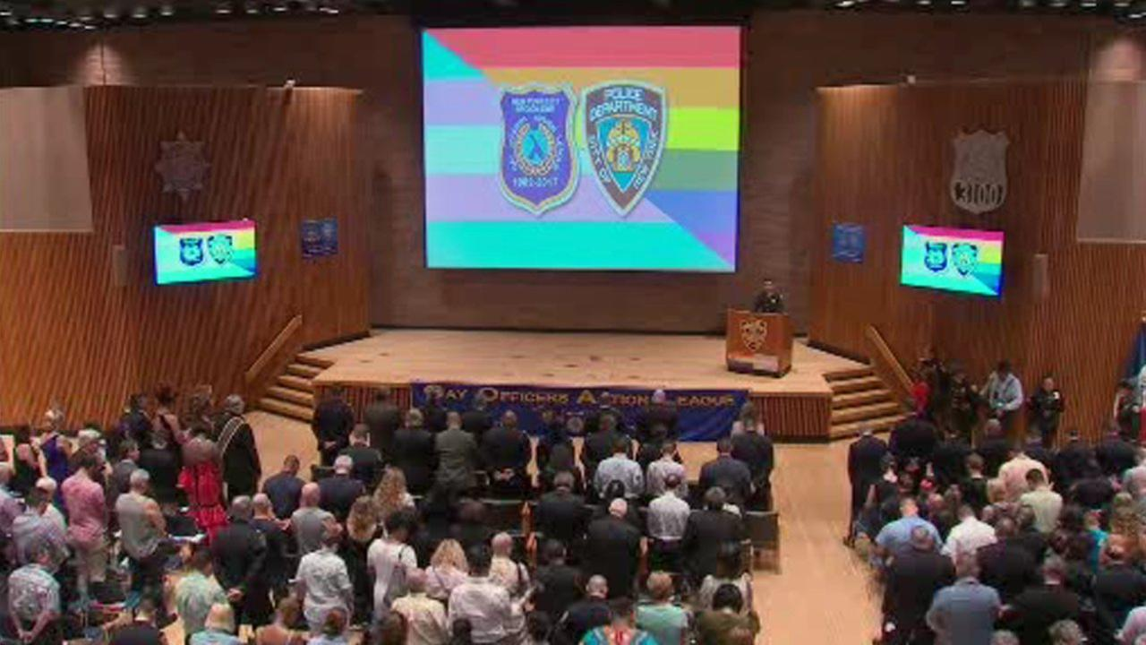 Gay Officer's Action League Pride Celebration held in NYC