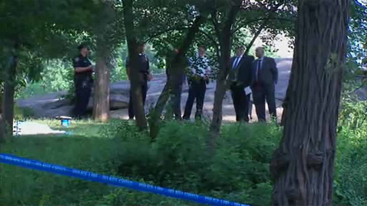 Police are investigating after the body of a woman was found in Central Park.