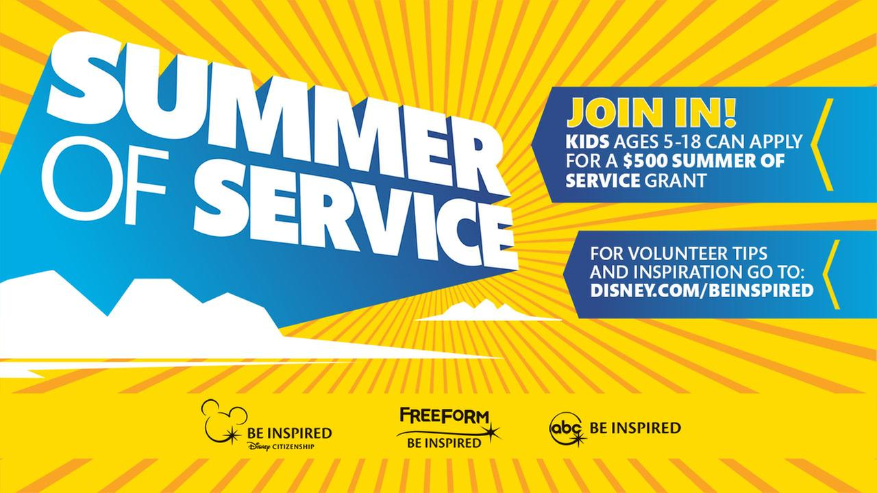 Disney Summer of Service Grants: Inspiring Kids and Families to Make a Difference