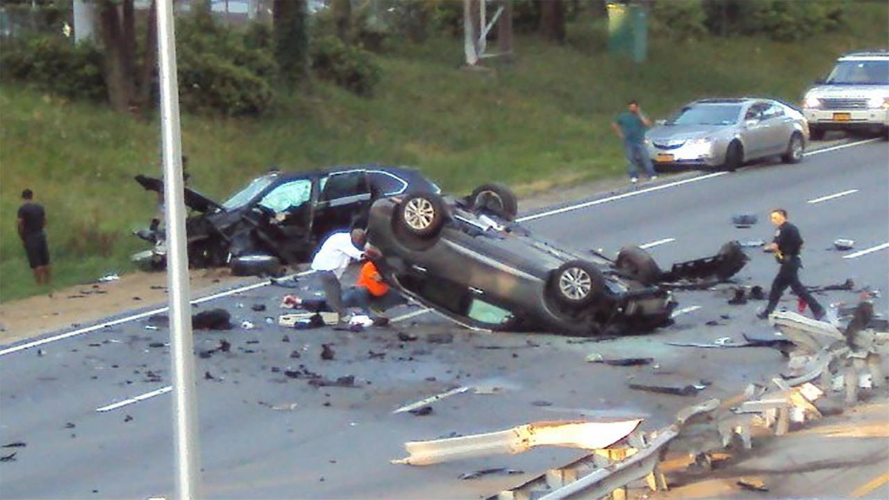 Mills River Car Crash