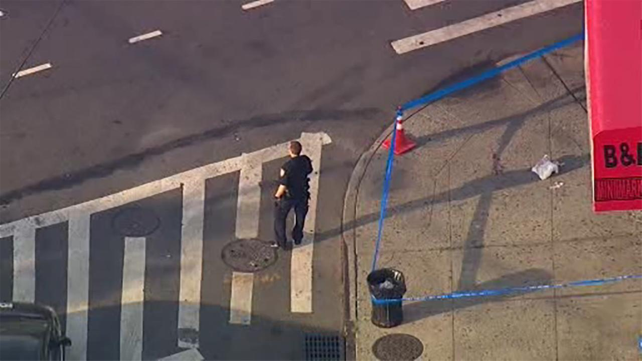 NewsCopter 7 was over the scene in Brooklyn.
