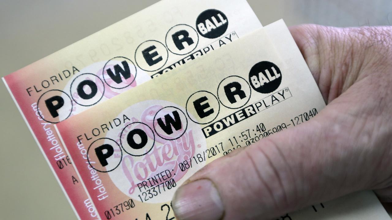Numbers drawn in second biggest Powerball jackpot ever!