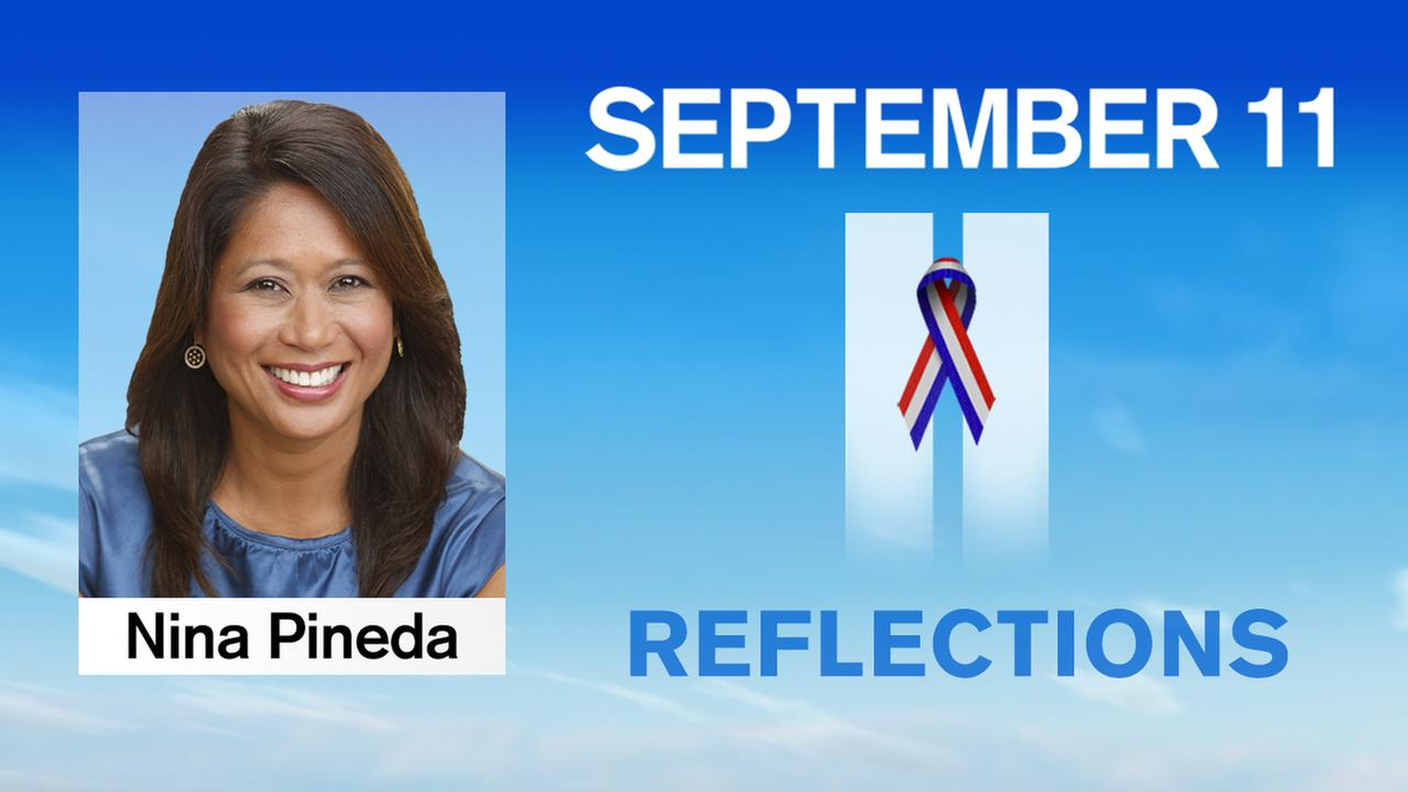 Nina Pineda reflects on the anniversary of 9/11