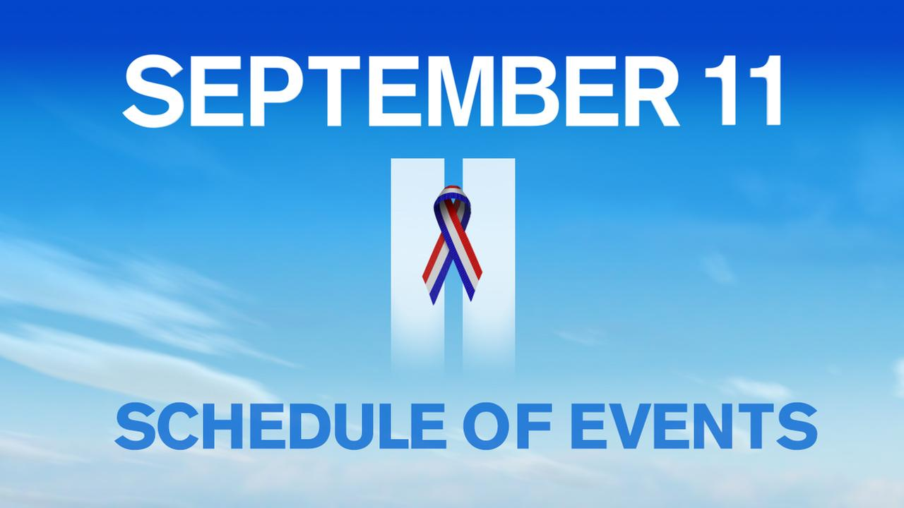 17th Anniversary of 9/11: Schedule of Events