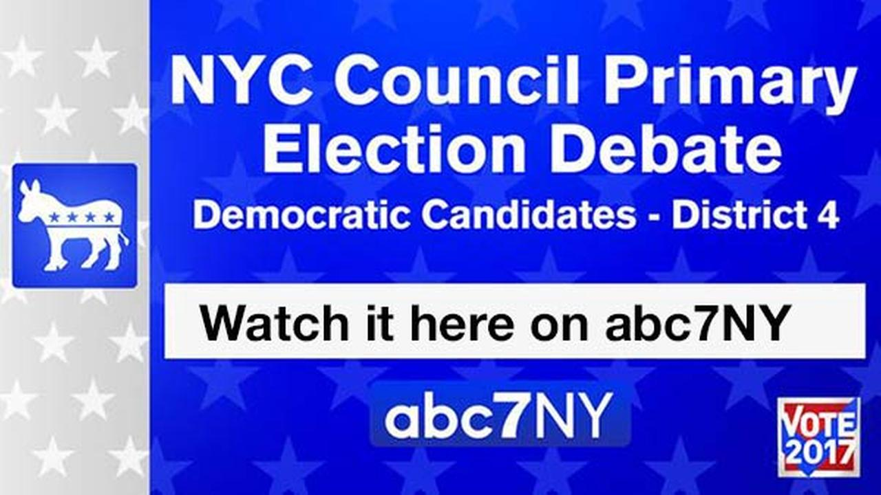 Watch it on abc7NY: Candidates for NYC Council District 4 Debate