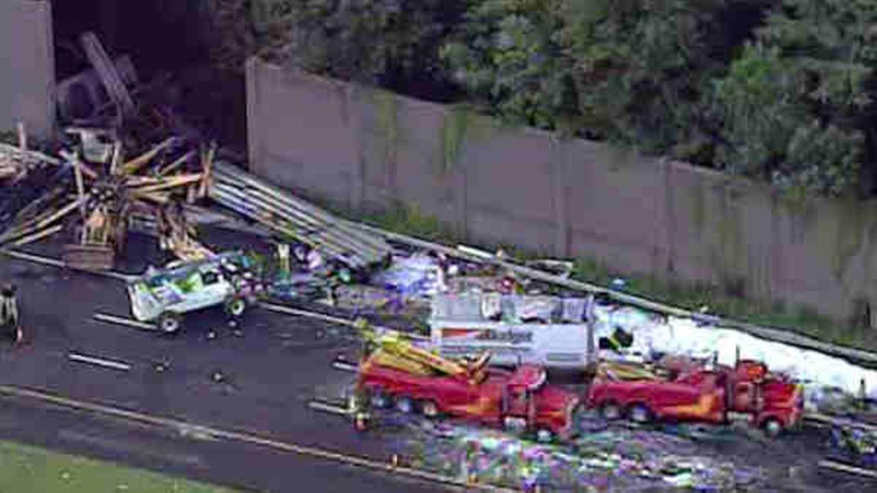 PHOTOS Deadly Crash Traffic Backup On I 287 Abc7ny Com
