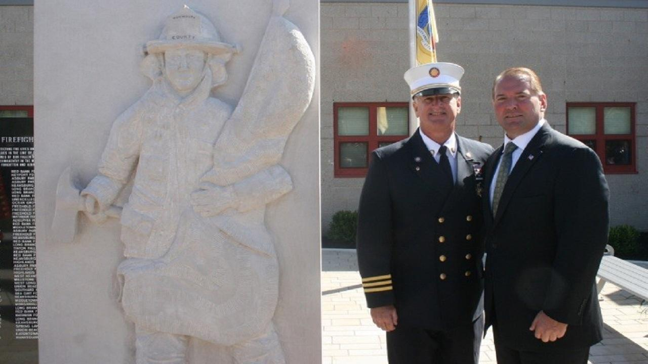 Fallen firefighters memorial dedicated in Monmouth County