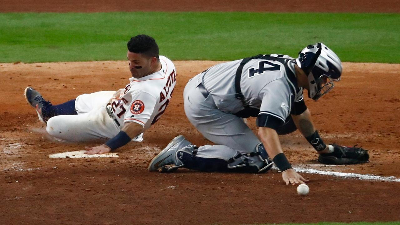 Yankees keep running into trouble in ALCS