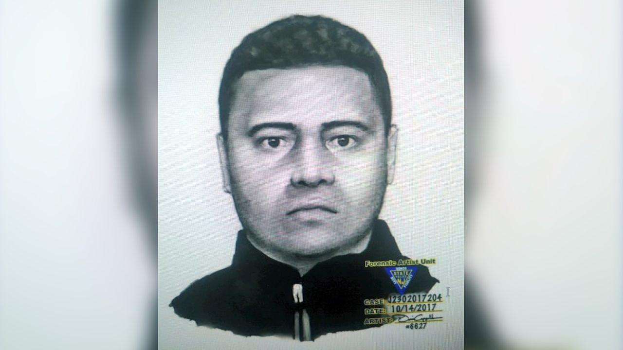 Sketch released in search for Clifton home invasion suspect