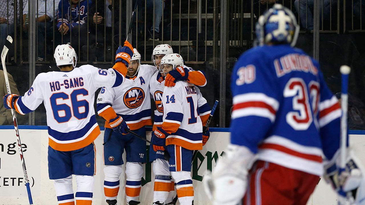 The Islanders win the first round in the battle of New York